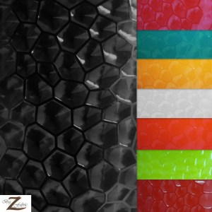 Solid Polygon Vinyl Fabric
