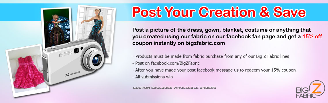 Post Your Vinyl Fabric Creation & Save