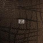 Goya Texture Embossed Vinyl Fabric Dark Brown