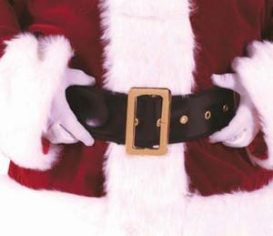 Amarillo Vinyl Fabric Santa Claus Belt
