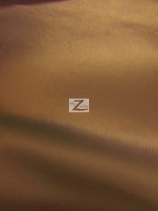 Shiny Pu Leather Vinyl Fabric Bronze