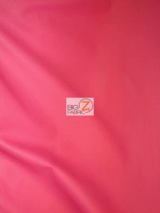 Solid Soft Vinyl Fabric Hot Pink