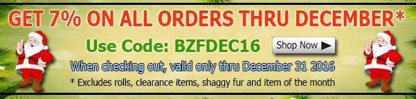 Big Z Fabric December Vinyl Fabric Discount Coupon