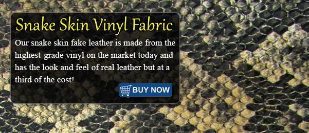 Snake Sopythana Vinyl Fabric