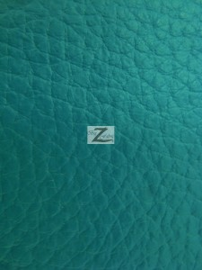Vinyl Faux Fake Leather Pleather Grain Champion PVC Fabric Jade