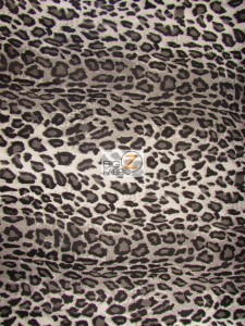 Leopard Pleather Vinyl Fabric
