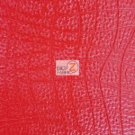 Texture Champion Goya Vinyl Embossed Fabric Red