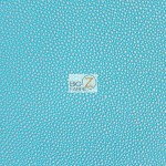 Tropical Lizard Iguana Embossed Upholstery Vinyl Fabric Icy Aqua