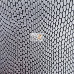 Cobra Snake Skin Vinyl Fabric Gray Black 30 Yard Roll