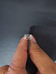 Solid Soft Vinyl Fabric Thick