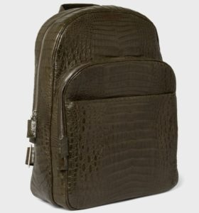 Luxury Crocodile Backpack